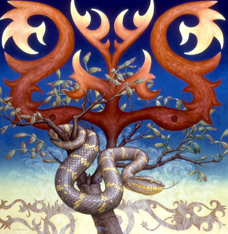 Tree of Life with Snake